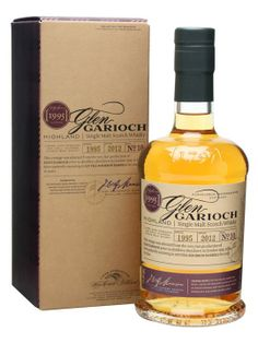 A 1995 vintage whisky from Glen Garioch. Although no age is stated, this has been bottled in 2012 which makes it roughly 17 years old.    IWSC 2012 - Gold Medal - Whisky - Scotch