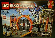 Lego® Exo Force 7709 - Sentai Hauptquartier 8-14 Jahren - gebraucht