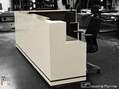 Lada Cubic - Wnętrza biurowe - Styl Nowoczesny więcej na http://www.projektmebel.pl/oferta/produkt/lady-nietypowe