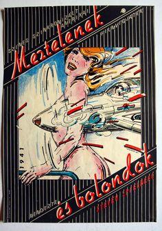 """Meztelenek és bolondok (1979) """"1941""""   Director: Steven Spielberg  Hungarian vintage movie poster. Artist:by Árendás József"""