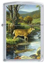 Linda Picken Deer Creek Zippo Lighter