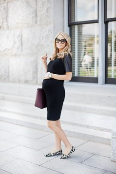 Gently used designer maternity brands you love at up to Maternity Swimwear, Maternity Wear, Maternity Fashion, Maternity Styles, Baby Bump Style, Mom Style, Pregnant Outfit, Stylish Maternity, Professional Outfits