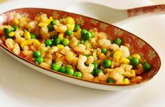 Andreea's Chinesefood blog: Creveți cu mazăre și porumb