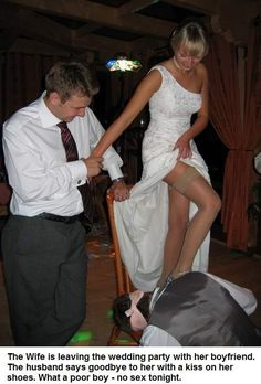 Brides and grooms in femdom life