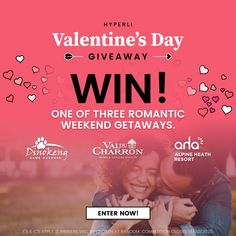 🔥 WIN 🔥 1 of 3 Weekend Getaways With Hyperli! Photography Booth, Sms Language, Modern Suits, Romantic Weekend Getaways, Game Lodge, Advertising And Promotion, Bachelorette Party Games, Weekends Away, Wellness Tips