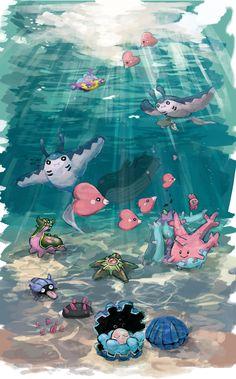 Water Pokémon UwU