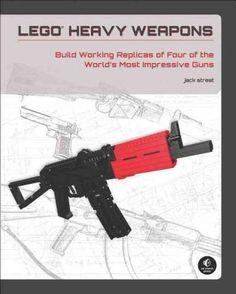 Lego Heavy Weapons: Build Working Replicas of Four of the World's Most Impressive Guns Lego Robot, Lego Moc, Combat Shotgun, Lego Books, Lego Guns, Movie Decor, Youtube Sensation, Turu, Custom Lego