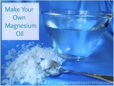 How to make magnesium oil - Use it for an easy way to increase your magnesium!
