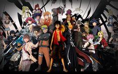 Popular Anime in the past and present. Manga Anime, Top 5 Anime, I Love Anime, Awesome Anime, Anime Play, Anime Art, Anime Music, Anime Wolf, Anime Guys