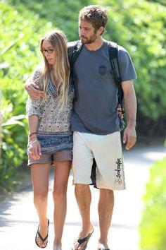 jasmine pilchard gosnell and paul walker | Jasmine Pilchard-Gosnell was the latest girlfriend of Paul Walker, who ...