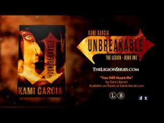 """""""What you can't see CAN hurt you."""" Check out the trailer for #UNBREAKABLE, coming October 1. #thelegionseries #kamigarcia #YAbooks #supernatural"""