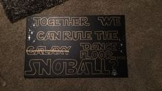 Star Wars dance proposal