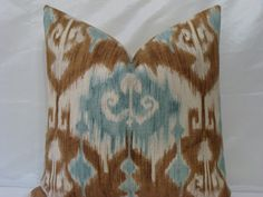 TEAL Decorative Designer Pillow Cover  20 x by PillowTalkandMore, $40.00