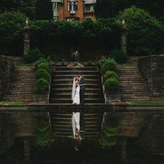 A gorgeous outdoor Portland, Oregon wedding at Lewis & Clark College.