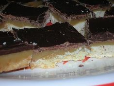famous caramel squares