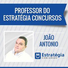 João Antonio é professor de Informática do Estratégia Concursos. https://www.estrategiaconcursos.com.br/professor/joao-antonio-1700/