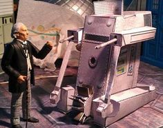 Doctor Who - WOTAN And The War Machines Paper Models - by Action Figure Theatre