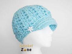 Free Crochet Pattern: Felicity Newsboy Hat