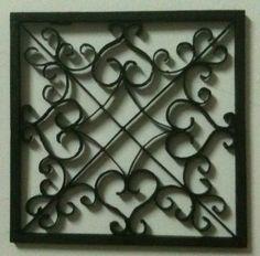 Easy DIY Iron Wall Art! | Metal walls, Metals and Metal wall art