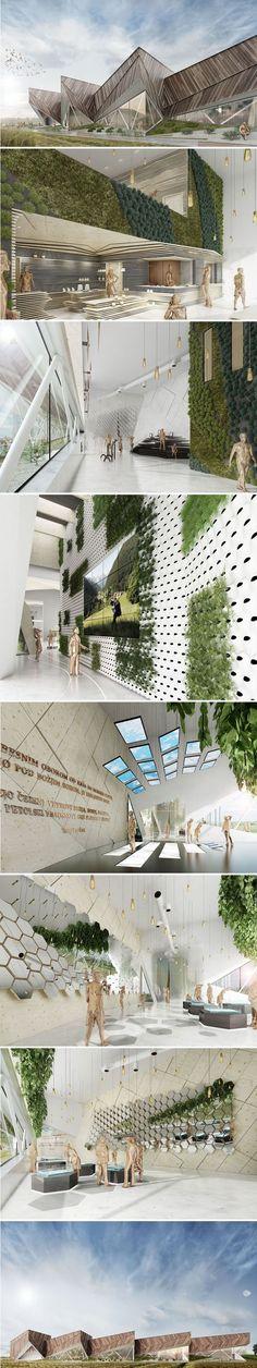 SoNo Arhitekti Pavilion to Represent Slovenia in Milan Expo 2015  http://www.arch2o.com/slovenia-pavilion-in-milan-expo-2015/