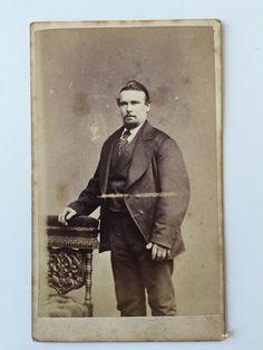 Victorian Carte De Visite CDV Photo - Hargreaves  - Dalton In Furness