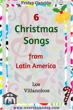6 Spanish Christmas songs to get you in the festive spirit. From well-loved classic Feliz Navidad to Puerto Rican children's favourite Alegre Vengo, there's a song here for everyone. Spanish Christmas Songs, Childrens Christmas Songs, Mexican Christmas, Spanish Songs, Spanish Lessons, Christmas Music, Spanish 1, Christmas Holiday, Christmas Crafts