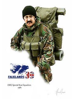 (SBS) Special Boat Squad. Falkland 1982