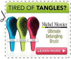 Michel Mercier Detangler Brush Coupon