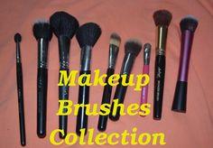 Makeup Brushes Collection http://youtu.be/JZvLLMXInGM