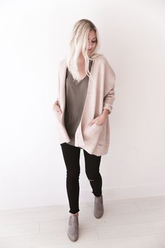 Cream Blush Cardigan