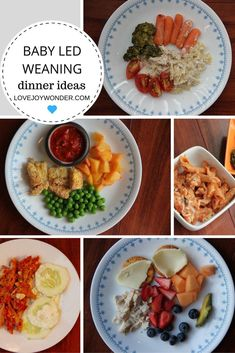 Baby Led Weaning and Toddler Montessori Dinner Meal Ideas and Inspiration