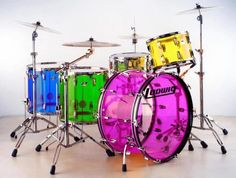 drums of The World | drums # ludwig # acrylic # acrylic drums