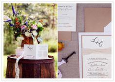 Details + Decor « 100 Layer Cake on We Heart It Wedding Branding, 100 Layer Cake, Woodland Wedding, Wedding Shoot, Flower Designs, Birthday Invitations, Summer Wedding, Falling In Love, Wedding Favors