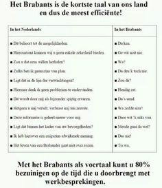 Brabantse efficientie