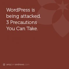wordpress attack