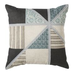 My new pillows for my fab new livingroom!  Threshold Frayed Patchwork Toss Pillow (18x18)