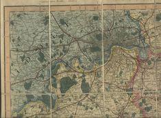 Kent London, Map Pictures, County Map, River Thames, Vintage World Maps, Antiques, Antiquities, Antique