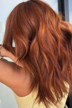 Hair Color Auburn, Hair Color Dark, Fall Auburn Hair, Deep Auburn Hair, Red Copper Hair Color, Ginger Hair Color, Natural Red Hair, Light Copper Hair, Strawberry Blonde Hair