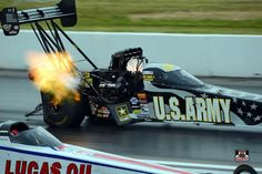 Tony Schumacher and Team at the 2015 Midwest Nationals in the U.S. Army Nitro Dragster