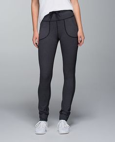 need new work-out pants...either black or a wild print, otherwise if it's just a full light colored pant you can see sweat through it