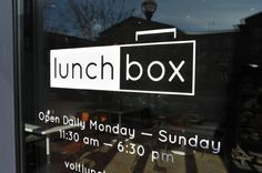 Lunchbox Frederick MD
