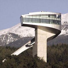 Bergisel Ski Jump - Innsbruck, AUSTRIA