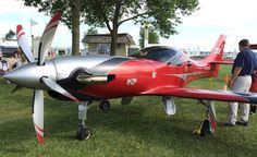 Turbulence. A turbine-powered Lancair Legacy built by Mike Patey.