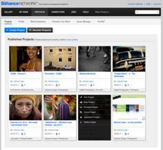 Personal portfolio on Behance Network