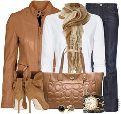 """""""Leather Jacket Contest #1"""" by angkclaxton ❤ liked on Polyvore"""