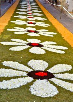 Festa do senhor santo cristo dos milagres portugal pinterest madeira flor e cristo - Alfombras portugal ...