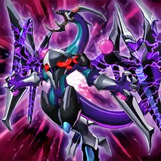 Dark Rebellion XYZ Dragon by NewArkantos