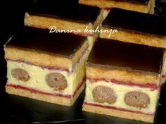 Danina kuhinja: Kuglica kocke sa malinama
