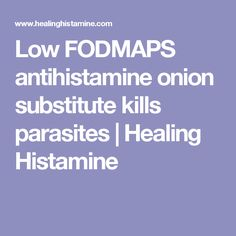 Flushing histamines facial anti do cause