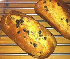 Rezept Rosinen-Mandel-Stuten von Cathys - Rezept der Kategorie Brot & Brötchen